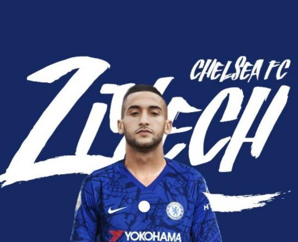 Hakim Ziyech is joining Chelsea FC this summer