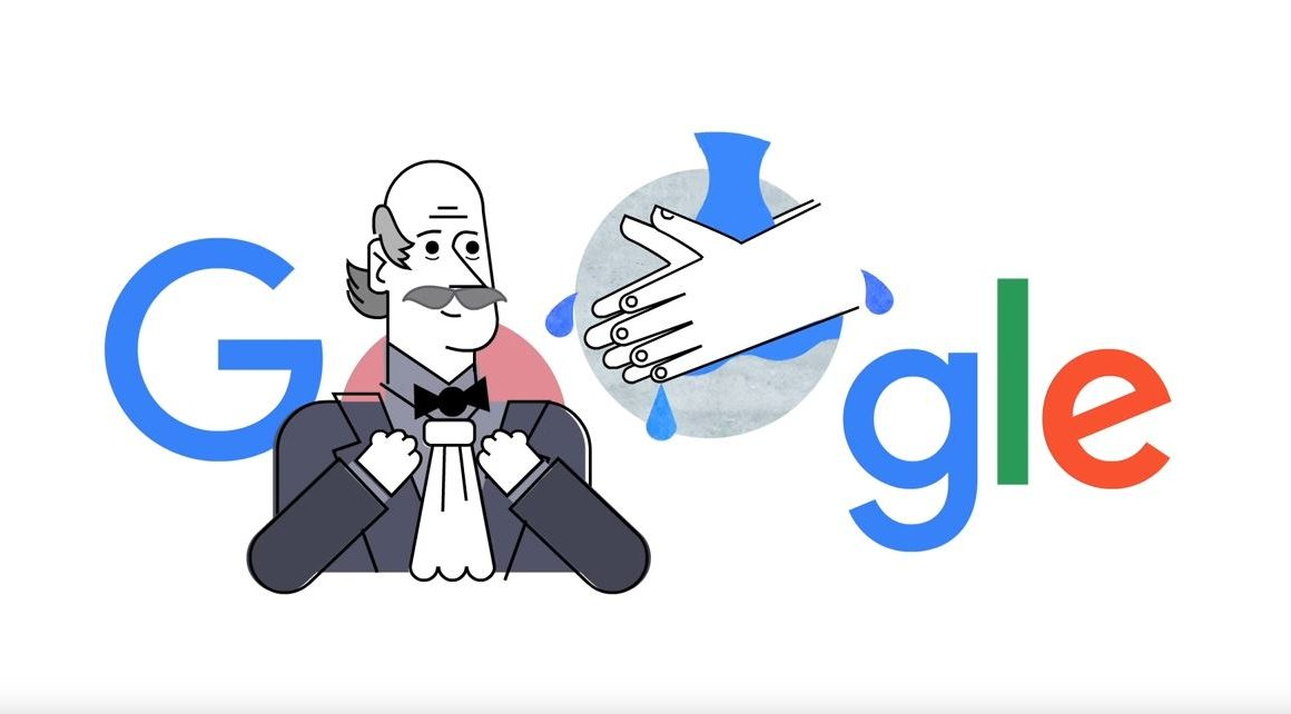 Handwashing Pioneer Dr Ignaz Semmelweis Is Being Honoured By Google Reminding You To Wash Your Hands