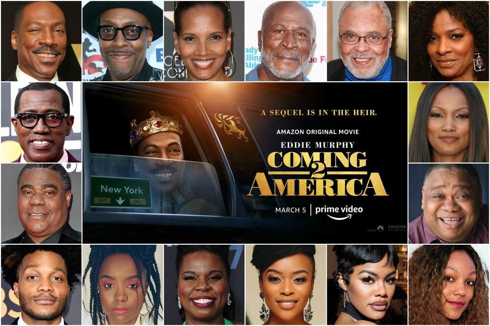 Coming 2 America cast