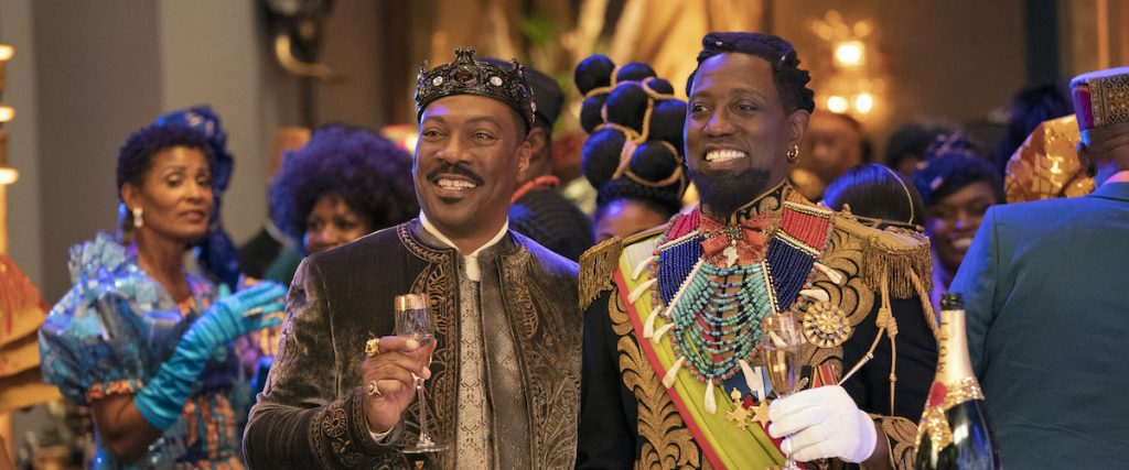 Eddy Murphy and Wesley Snipes