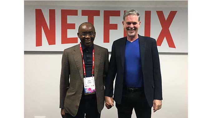 Strive Masiyiwa & Reed Hastings